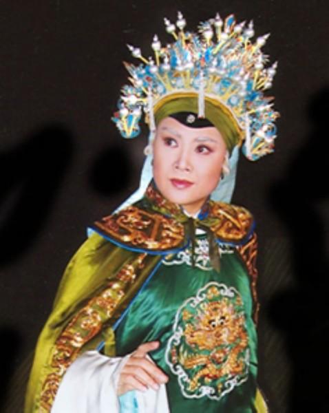 京剧人物-老旦