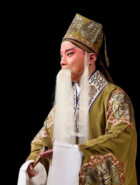 京剧人物-老生